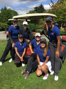 NPJL Team; Kenedee Peters, Ashley Fitzgibbons, Brittany Kwon, Katelann Soth, Brittany Kwon, Vreni Todd.